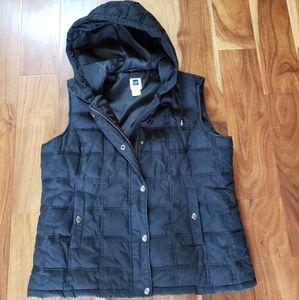 Gap hooded puffer vest